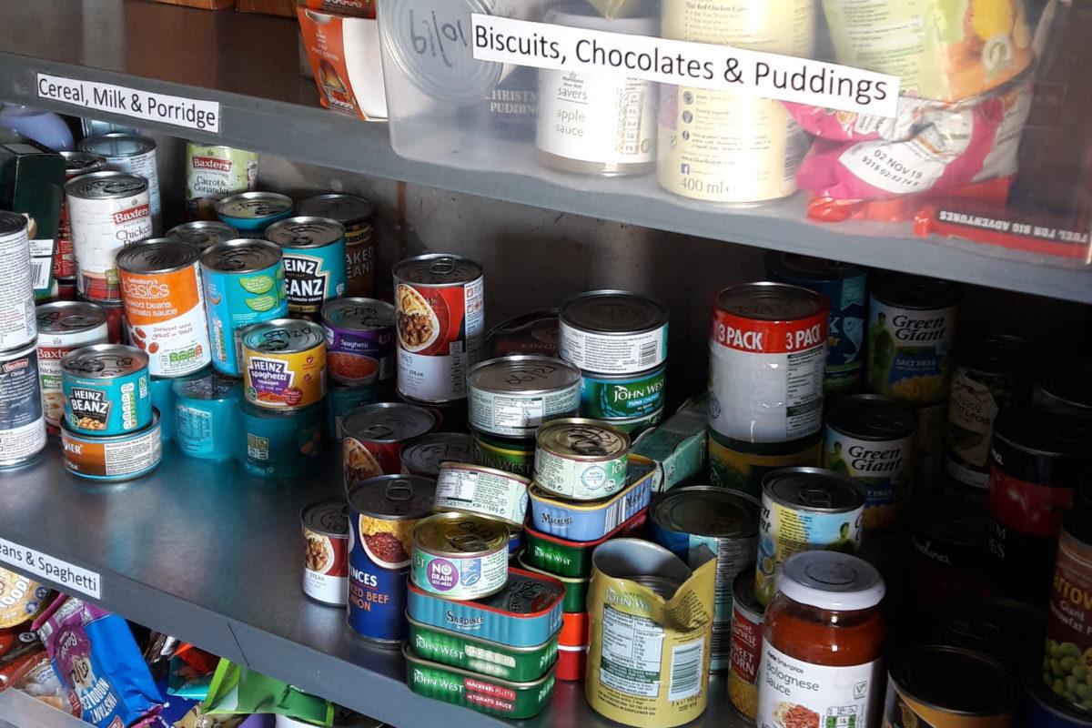 Foodbank at Joanna House